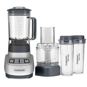 Cuisinart ReMixtrio 1HP Blender/Food Processor with Travel Cups
