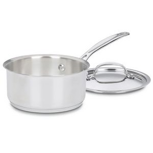 Cuisinart 1.5 Quart Stainless Steel Saucepan with Cover